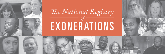 The National Registry of Exonerations